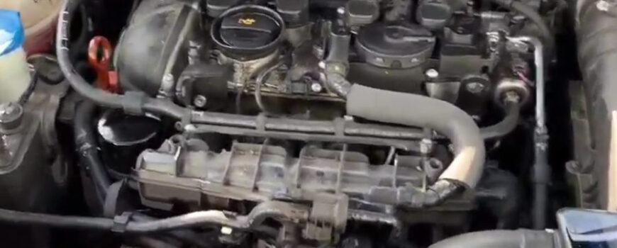 Motoinnenreinigung Motor Vital
