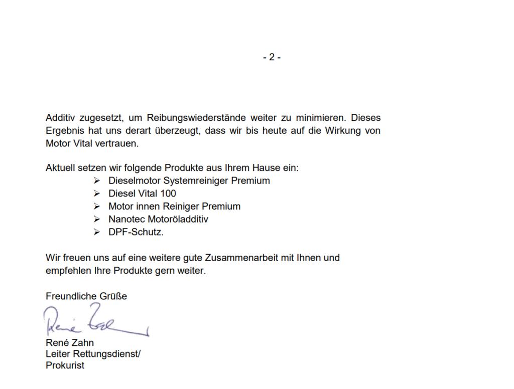 motor vital empfehlung vom deutschen roten kreuz 2 Motor Vital